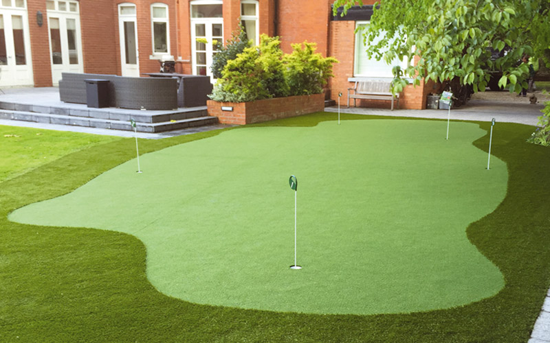 Home putting green Dublin