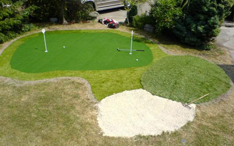 Home putting green Naas