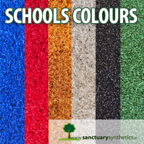 Sanctuary Synthetics Schools Colours Play Grass