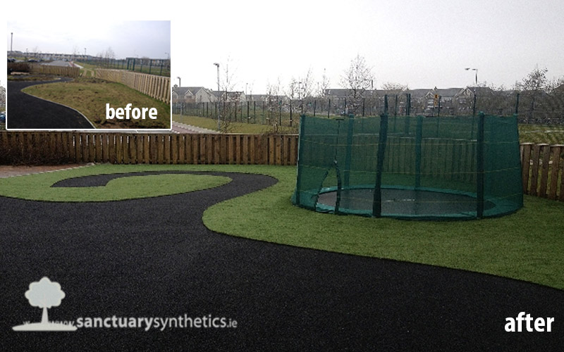 Pics of artificial grass for special needs areas