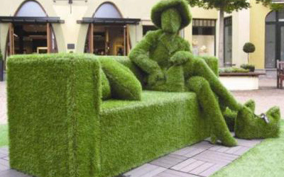 Pictures of bizzare uses of artificial grass