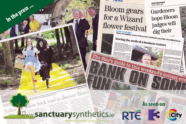 Sanctuary Synthetics in the Press and on TV