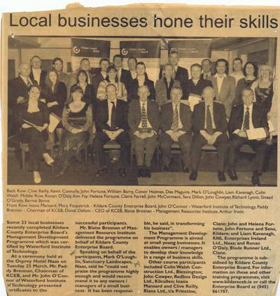 Local Business Hone Their Skills