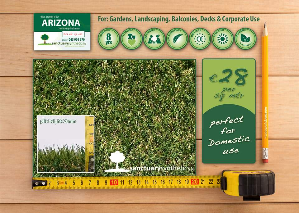 Sanctuary ARIZONA Domestic Artificial Grass