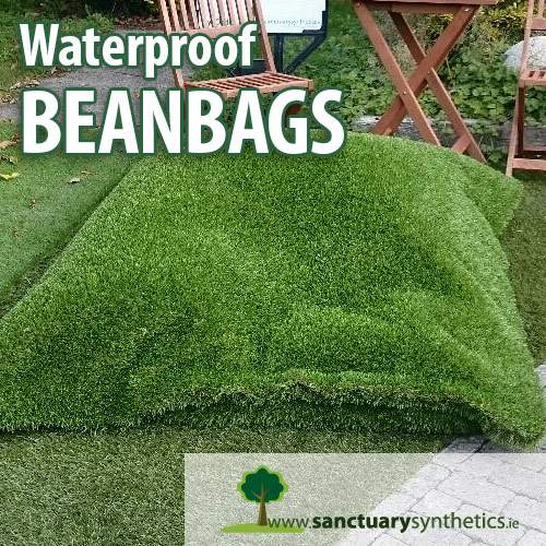 Sanctuary Artificial Grass Beanbag