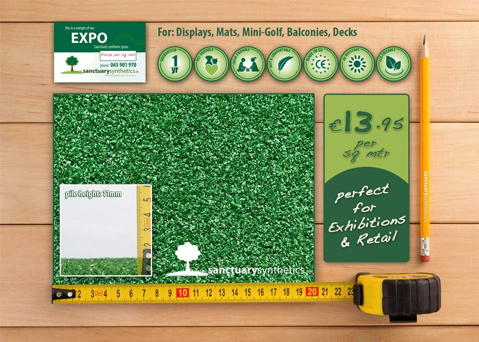Sanctuary EXPO Domestic Artificial Grass