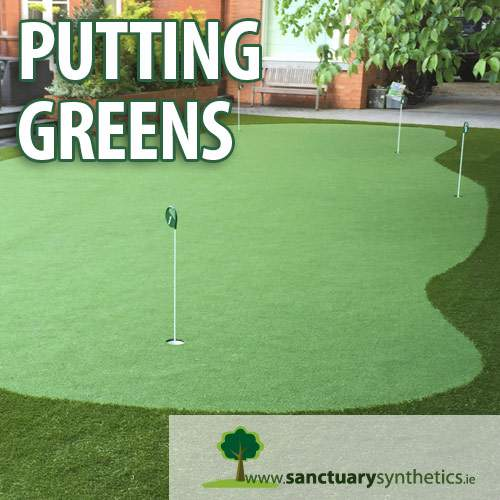 Sanctuary Synthetics Home Putting Greens