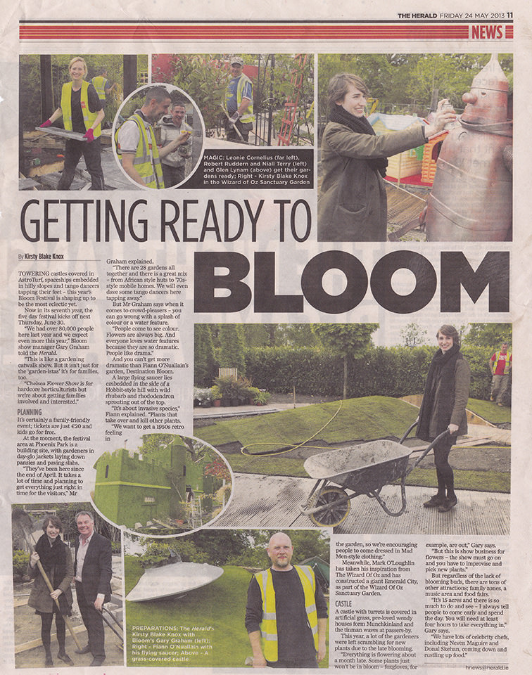 Evening Herald May 2013