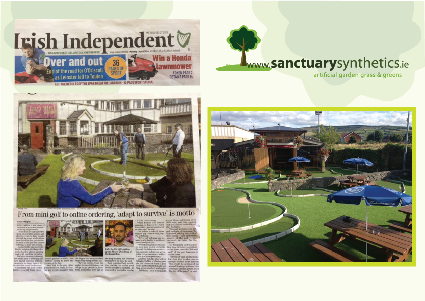 Sanctuary featured in The Independent