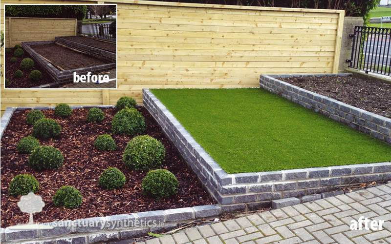 Artificial grass for Front Gardens