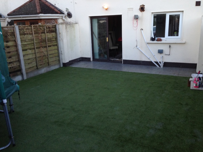 Sutton, Co Dublin Artificial Grass Garden