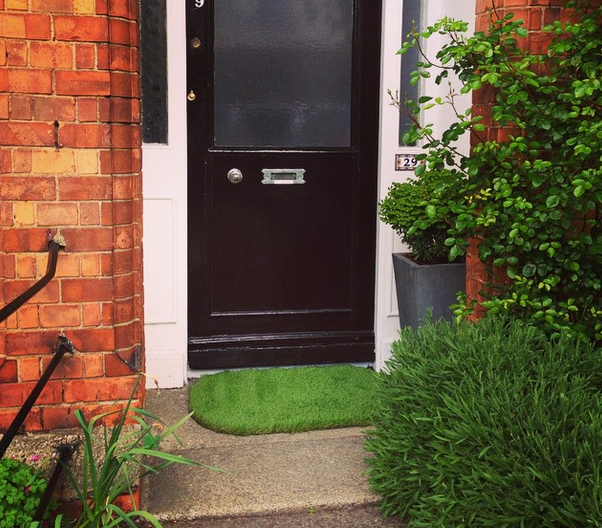 Sanctuary Artificial Grass Doormat