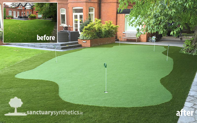 Home Putting Green in Ballsbridge