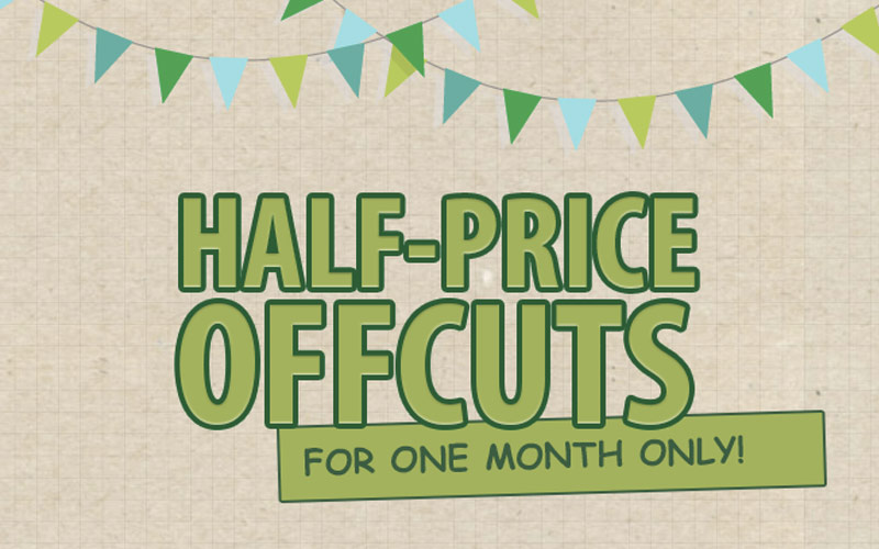 Half Price Artificical Grass Offcuts