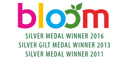 3 times a medal winner at Bloom