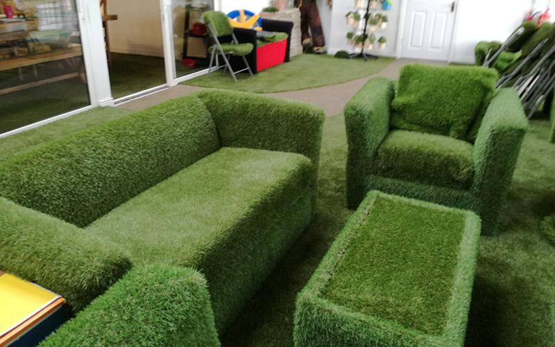 Rent / hire artificial grass and grass props from Grassland