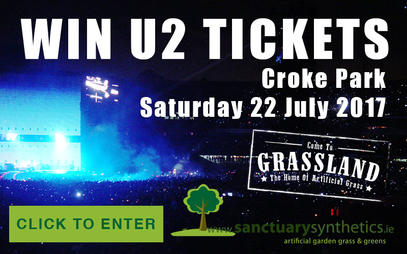 Win U2 Tickets – Croke Park – July 2017