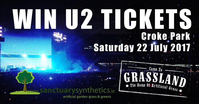 Win U2 Tickets for Croke Park gig - July 2017