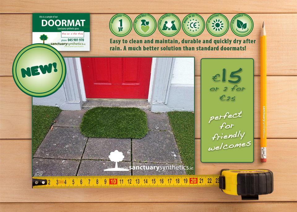 Artificial grass doormat & Artificial Grass Doormat | Sanctuary Synthetics