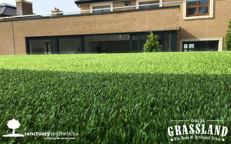 Beautiful Malahide Garden With Artificial Grass