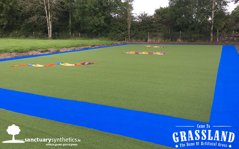 Artificial grass playground - Tubbercuury NS Galway -  image (after 2)