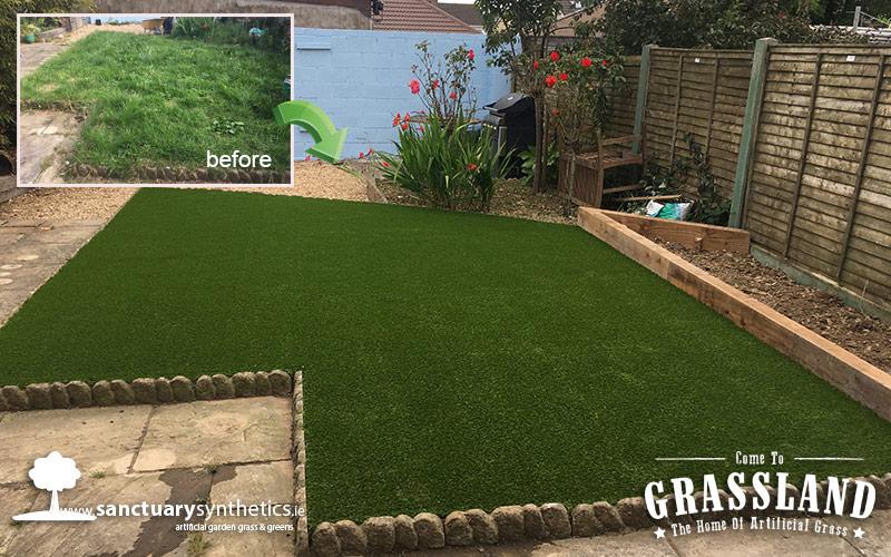 Artificial Grass Garden – Co. Louth