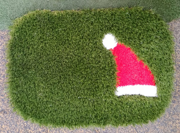 Deck The Halls With Artificial Grass